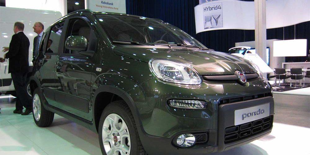 Fiat Panda è l'auto più venduta in Italia a novembre 2020